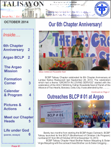 October Issue Page 1