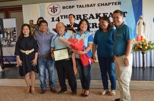 FIRST OUTREACH HEAD OF TALISAY (as part of CEBU SOUTH BCBP)