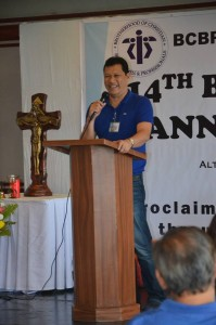 Welcome Address by Brother Concon Quisaot