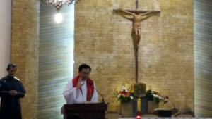 Fr Fidel Orendain SDB celebrated the Holy Mass