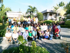 BCBP Talisay Group imitates the WAY OF THE CROSS