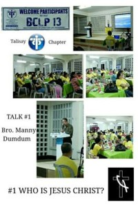 BCLP - Talk 1 done by Brother Manny Dumdum