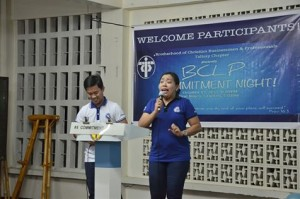 Commitment Program : Hosted by Bro Albert and Sis Janet Mananay