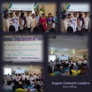 ARGAO OUTREACH LEADERS - installed