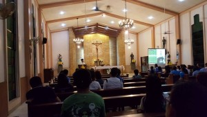 BCBP AVE MARIA LIVING ROSARY was followed with the HOLY MASS