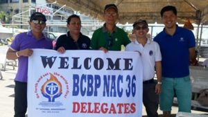 BCBP Members welcome other chapters at the port